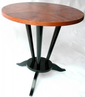French Art Deco Side Table Leon Jallot