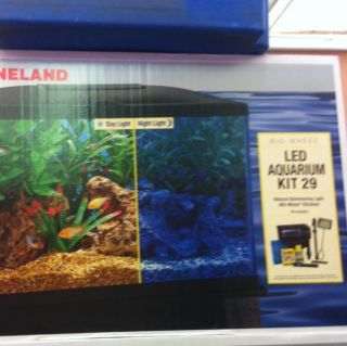 Marineland 29 Gallon LED Aquarium Kit