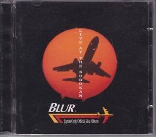 BLUR 2CD Live at the Budokan Japan Only Official Live Album 1996 TOCP
