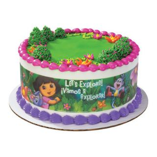 Dora Explorer Edible Print Cake Decoration Image