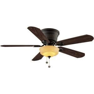 NEW Hampton Bay Lynwood 52 in. Indoor Ceiling Fan Model with light