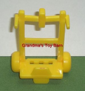 Fisher Price Little People Truck Mail Delivery Cart