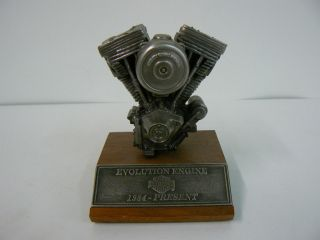 Pewter Harley Evolution Motor 02424 of 10 000 Item G10