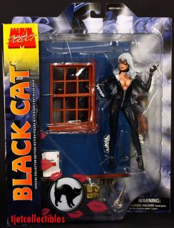 Marvel Select Black Cat Collector Edition Action Figure