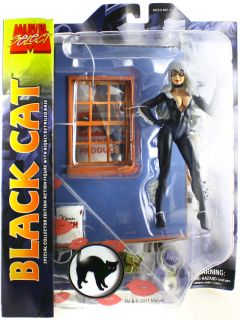 Marvel Select Diamond Toys Black Cat 7 Action Figure