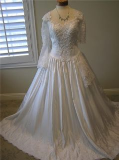 NWOT P.C Marys 4968 wedding dress bridal gown Quinceanera Bell short
