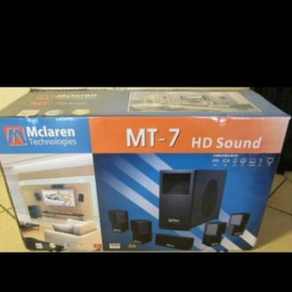 McLaren Technologies MT 7 Digital HD Home Theater Surround Sound