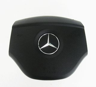 Mercedes Benz Emblem DRIVER Steering Wheel SRS Airbag Cover ML B GL R