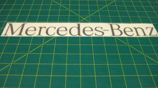 Mercedes Benz Sprinter 308 311 313 Rear Door Replacement Decal Sticker