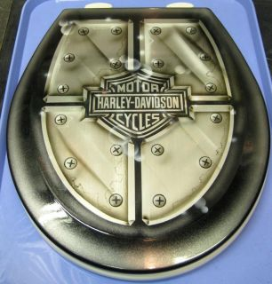 Custom Airbrushed Toilet Seat, Cut Metal HD FORD CHEVY JEEP & DODGE