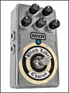 MXR ZW38 ZW 38 Black Label Chorus Guitar Pedal Zakk Wylde New