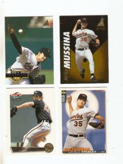 Upper Deck UD Collectors Choice Mike Mussina Baltimore Orioles