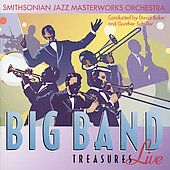 Big Band Treasures Live by Smithsonian Jazz Masterworks Or CD, Jul
