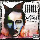 Lest We Forget The Best Of by Marilyn Manson CD, Sep 2004, Universal