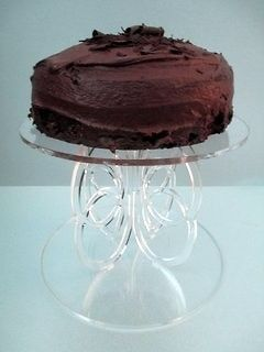 Crystal Clear Acrylic 8 Cake Stand/Cake Separator Height 6.25