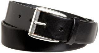 Allen Edmonds Mens Madison Black Leather Belt Size 36
