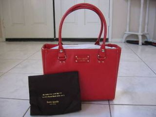 Kate Spade Wellesley Quinn Tote  Modern Red   New with Tag   Authentic