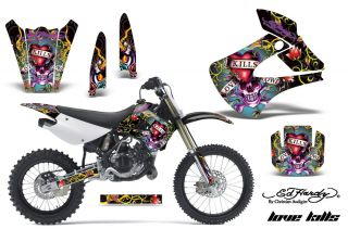 AMR RACING DIRT BIKE MOTORCROSS GRAPHICS KAWASAKI KX 85 100 01 12 ED