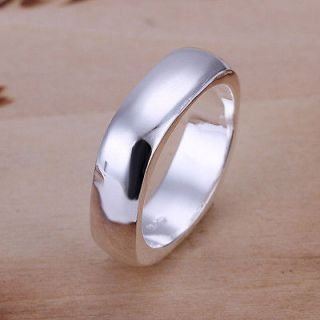 925 Sterling Silver Electroplated Jewelry Rings US Size 5,6,7,8,9,10