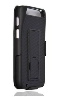 Clip Shell Holster Hybrid Case+Kick Stand for Motorola Atrix MB886 HD