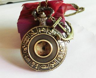 mad steampunk snitch pocket watch necklace pendant jewelry watch