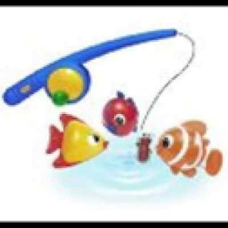 NEW Magnetic Fishing Game Bath Tub Toy Baby Infant Bathtub Water w