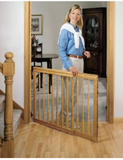 Furniture Swing Stairway Child Safety Gate for 31 to 52 Opening by