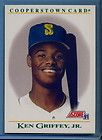 1991 SCORE KEN GRIFFEY JR COOPERSTOWN CARD B3