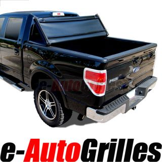 05 12 Nissan Frontier 5ft Short Truck Bed TRI FOLD Tonneau Cover 5
