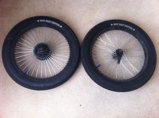 West Coast Choppers Bicycle bike tires, rims, tubes, parts 20x3.00