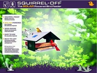 Squirrel Proof Bird Feeder repels squirrels, feeds more birds