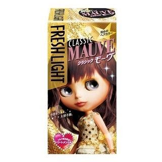 FRESH LIGHT Japan Blythe Bubble Hair CLASSIC MAUVE Color DYING KIT