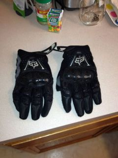 fox racing bomber gloves large Offroad Dirt Bike