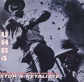 UHBIV Stop & Retaliate CD Underground Hip Hop Living Legends Sunspot