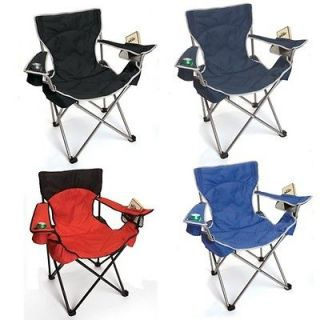 Big Gun Folding Camp Chair Heavy Duty Rated 400 Lbs Choice of 4 Colors
