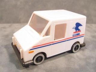 US Mail Truck Stamp Dispenser Postal Service/Post Office Plastic Truck