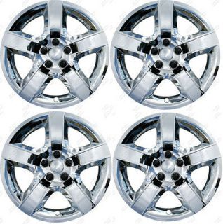 Chevy Malibu Chrome Factory Replica BOLT ON Wheel Covers Hubcaps 17