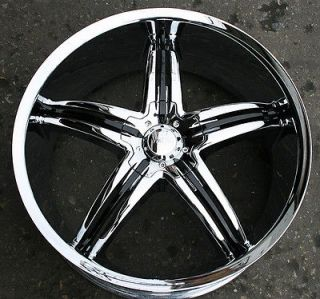 VISCERA 770 22 CHROME RIMS WHEELS CHRYSLER 300 300C AWD