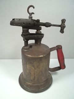 Early VTG Antique Clayton & Lambert Brass Blow Torch