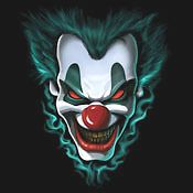 Clowns T Shirt Freaky Evil Clown Faces Tee Scary Cool Shirt Funny Tee