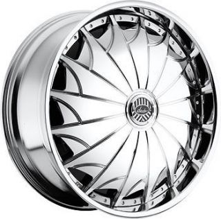 28 DAVIN REVOLVE SPINNERS Devious WHEEL SET 28x10 RIMS 5   6 Lug