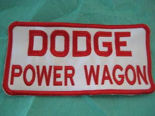 Newly listed Large Dodge Power Wagon Patch 7 3/4 X 4