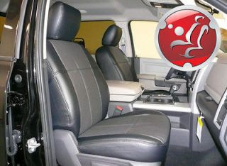 dodge ram leather seat covers