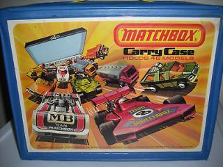 1976 Matchbox 48 Car Collectors Carry Case Lesney Products Corp