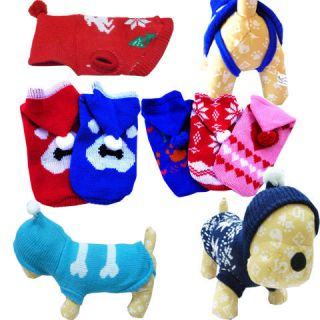 Dog Puppy Apparel Coats Clothing Sporty Sweater Warm Differen Types/SZ