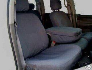 DODGE RAM 2002 2003 2004  2005 SEAT COVERS FRONT CHARCOAL