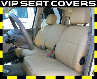 Dodge Ram 2500 3500 Mega 06 07  Clazzio Leather Seat Covers  $275