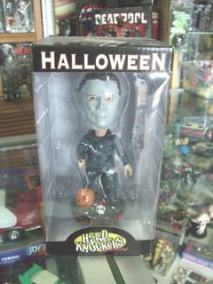 Michael Myers HEAD KNOCKER BOBBLE HEAD New by Neca MIB