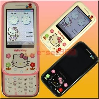 Hello KItty Mobile phone V1 2.4 Touch Screen Dual Sim Unlocked