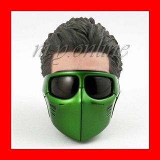 Hot Toys Spider Man 3 NEW GOBLIN 1/6 HEAD w/GREEN MASK